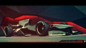 Nathan Dearsley McLaren F1 2056 Design Concept